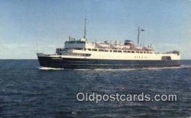shi009353 - MVS Abegweit, Prince Edward Island, Canada Steam Ship Postcard Post Cards