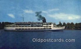 shi009354 - SS Mount Vernon, Washington DC, USA Steam Ship Postcard Post Cards
