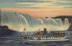 shi009357 - Maid Of The Mist, Niagara Falls, New York, NY USA Steam Ship Postcard Post Cards