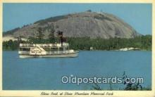 shi009367 - Show Boat AT Stone Mountain Memorial Park Steam Ship Postcard Post Cards