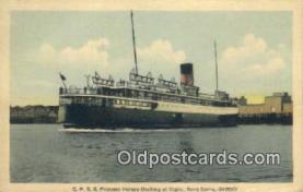 shi009379 - CPSS Princess Helene Entering, The Gap Digby, Nova Scotia Steam Ship Postcard Post Cards