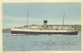 shi009385 - CPSS Princess Helene Entering, The Gap Digby, Nova Scotia Steam Ship Postcard Post Cards