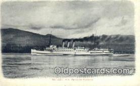 shi009389 - SS Princess Victoria, British Columbia, BC  Steam Ship Postcard Post Cards