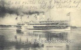 shi009400 - Steamer Tashmoo, Vermont, VT USA Steam Ship Postcard Post Cards