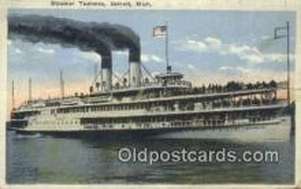 shi009402 - Steamer Tashmoo, Vermont, VT USA Steam Ship Postcard Post Cards