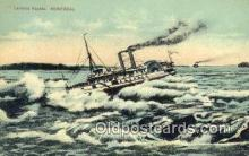 shi009407 - Lachine Rapids, Montreal Steam Ship Postcard Post Cards