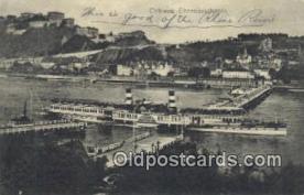 shi009409 - Coblenz-Ehrenbreitstein Steam Ship Postcard Post Cards