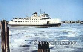 shi009420 - Steamer Nantucket, Nantucket, Massachusetts, MA USA Steam Ship Postcard Post Cards