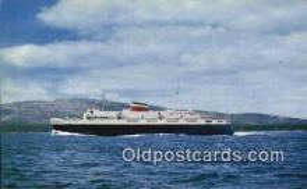 shi009428 - The Bluenose, Bar Harbor, Maine, ME USA Steam Ship Postcard Post Cards
