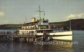 shi009431 - Mv Mount Washington, Alton Bay, New Hampshire, NH USA Steam Ship Postcard Post Cards