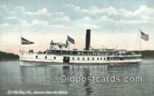shi009436 - Steamer Steur De Monts, Bar Harbor, Maine, ME USA Steam Ship Postcard Post Cards