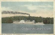 shi009444 - Mount Washington, Weirs Beach, New Hampshire, NH USA Steam Ship Postcard Post Cards