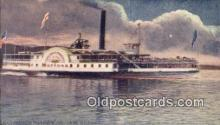 shi009445 - Steamer Horicon, Lake George, New York, NY USA Steam Ship Postcard Post Cards