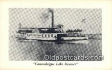 shi009448 - Canandaigua Lake Steamer  Steam Ship Postcard Post Cards