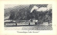 shi009455 - Canandaigua Lake Steamer  Steam Ship Postcard Post Cards