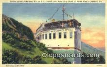 shi009466 - SS Grand View Point Ship Hotel On Lincoln Highway, Bedford, Pennsylvania, PA USA Steam Ship Postcard Post Cards