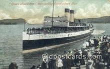 shi009475 - Queen Alexandra, Campbell town Pier Steam Ship Postcard Post Cards