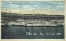 shi009476 - Steamer Quebec St Lawrence River, Quebec Steam Ship Postcard Post Cards