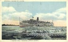 shi009477 - Montreal- Rapides De Lachine Steam Ship Postcard Post Cards