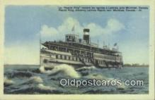 shi009479 - Le Rapids King, Montreal, Canada Steam Ship Postcard Post Cards