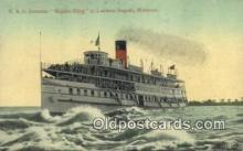 shi009480 - R And O Steamer Rapids, Lachine Rapids, Montreal Steam Ship Postcard Post Cards