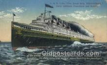 shi009486 - C And B Line, Seeandbee, Buffalo, New York, NY USA Steam Ship Postcard Post Cards