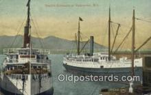 shi009513 - Seattle Steamers, Vancouver, British Columbia, BC  Steam Ship Postcard Post Cards