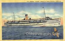 shi009517 - CPR SS Princess Charlotte, Vancouver, British Columbia, BC Steam Ship Postcard Post Cards