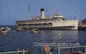 shi009529 - Avalon, Catalina Island, California, CA USA Steam Ship Postcard Post Cards