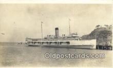 shi009532 - Printed Photo, Steamer Catalina Steam Ship Postcard Post Cards