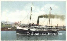 shi009562 - Steamer Cabrillo, Catalina Island, California, CA USA Steam Ship Postcard Post Cards