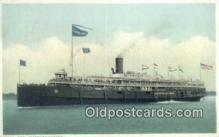 shi009571 - Steamer, Eastern States Steam Ship Postcard Post Cards