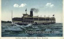 shi009575 - Lachine Rapids, Montreal Steam Ship Postcard Post Cards