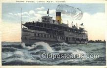 shi009576 - Steamer Running, Lachine Rapids, Montreal Steam Ship Postcard Post Cards