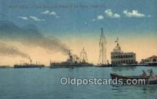shi009580 - Port Said Steam Ship Postcard Post Cards