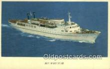 shi009595 - MV West Star Steam Ship Postcard Post Cards