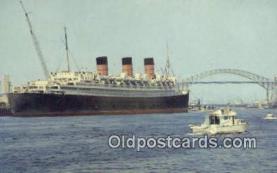 shi009604 - Long Beach Harbor, Long Beach, California, CA USA Steam Ship Postcard Post Cards