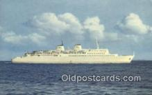 shi009613 - DDR Grebfahre Se Bnitz Steam Ship Postcard Post Cards