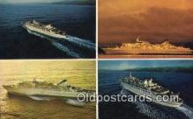 shi009621 - Norwegian Caribbean Lines, Miami, Florida, FL USA Steam Ship Postcard Post Cards
