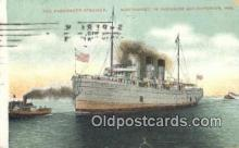 shi009623 - The Passenger Steamer, Superior Bay, Wisconsin, WI USA Steam Ship Postcard Post Cards