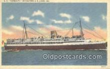 shi009628 - SS Yamouth, Yarmouth, Nova Soctia Steam Ship Postcard Post Cards