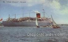 shi009634 - Queen Monarch, Bermuda Steam Ship Postcard Post Cards