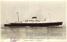 shi009638 - British Railways, SS Amsterdam Steam Ship Postcard Post Cards