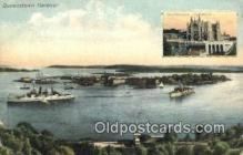 shi009640 - Queenstown Harbor Steam Ship Postcard Post Cards