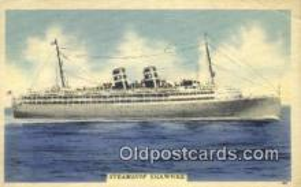 shi009643 - Steamship Shawnee Steam Ship Postcard Post Cards