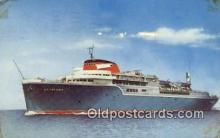 shi009651 - The Aquarama Line Steam Ship Postcard Post Cards