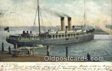 shi009656 - Harwich SS Dresden Steam Ship Postcard Post Cards