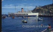 shi009664 - Avalon, Catalina Island, California, CA USA Steam Ship Postcard Post Cards