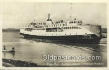 shi009665 - Providence Boot Koningin Juliana Vlissingen Breskens Steam Ship Postcard Post Cards