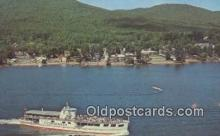 shi009672 - MV Ticonderoga, Lake George, New York NY USA Steam Ship Postcard Post Cards